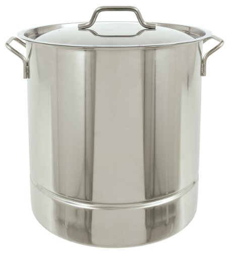 Bayou Classic Tri-Ply 16-Gallon Stainless Steel Stockpot