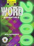 Microsoft Word 2000 Essentials, Rutkosky, Nita H., 0763802786