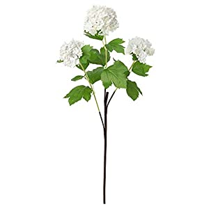 IKEA ASIA SMYCKA Artificial Flower Snowball White 83
