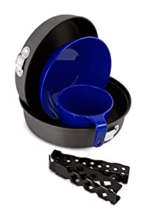 GSI Outdoors - Extreme Mess Kit, Camping Cook Set, Superior Backcountry Cookware Since 1985