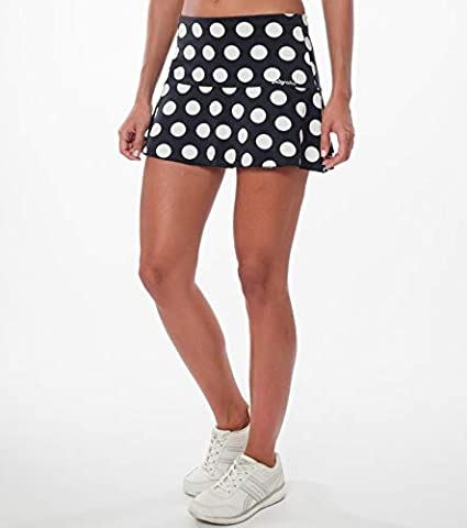 a40grados Sport & Style, Falda Lunar (Lunar Blanco), Mujer, Tenis y Padel (Paddle)