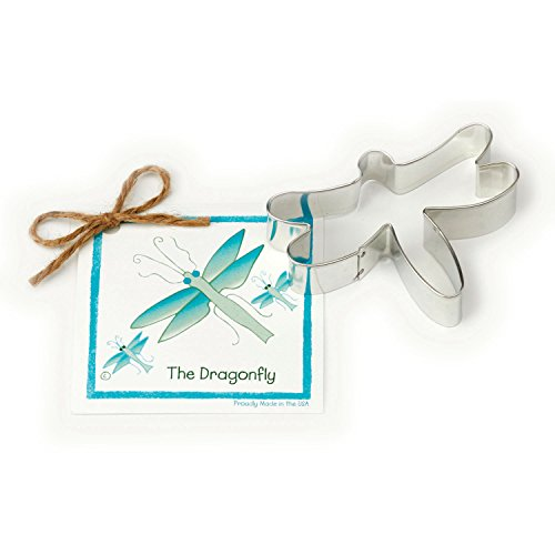 Dragonfly Cookie and Fondant Cutter - Ann Clark - 4 Inches - US Tin Plated Steel
