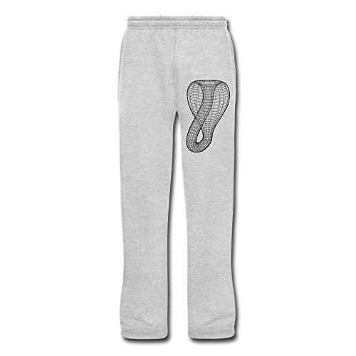 Duola Men's Workout Pants Klein Bottle Ash Size 3X