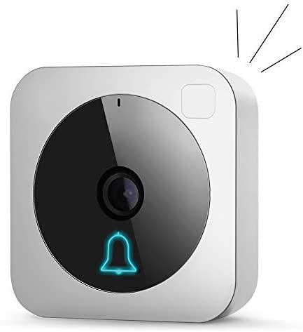 Wireless video doorbell with WiFi enabled smart ho…