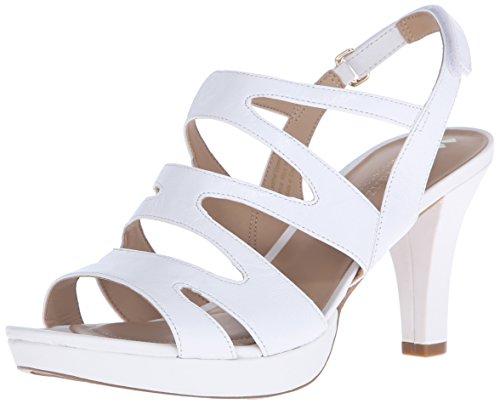 naturalizer white sandals - 2