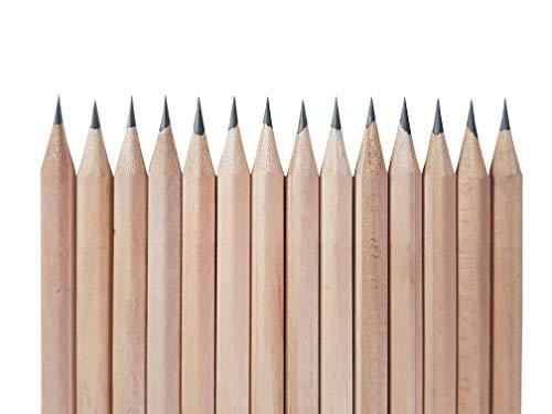 Pre-sharpened Raw Natural Wood Pencils 72 PCs in Box :