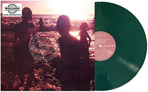 - One More Light Exclusive Limited Edition Dark Green Color Vinyl [Condition-VG+NM]