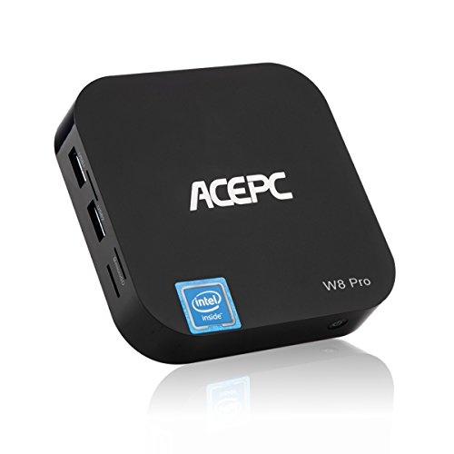 MINI PC,ACEPC T8 Mini Computer Intel Atom x5-Z8350 4GB/32GB Fanless Computer Windows 10 Desktop PC With Built-in Wifi,Bluetooth 4.0 Support 4K HD Playing