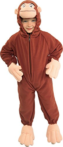 Curious George Child Costumes (Rubie's Little Boy's Curious George Costume Small)