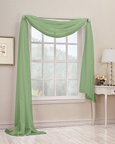 empire-home-solid-sheer-voile-scarf-valance-216-long-window-scarves-37-x-216-color-sage-green