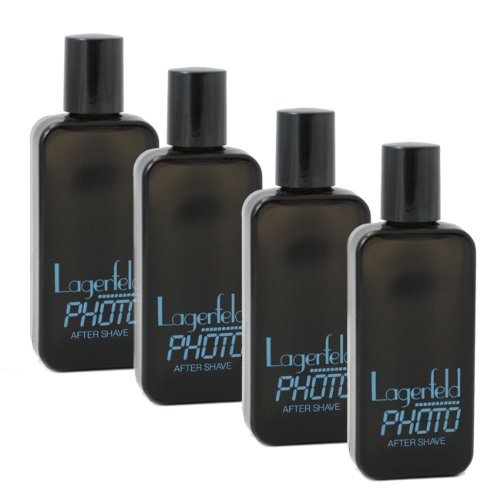 (Photo by Karl Lagerfeld for Men. Aftershave Pack Of 4 X 1.0 Oz / 4 X 30 Ml)