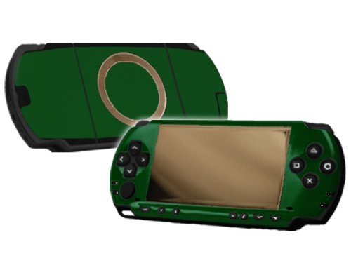 Sony PlayStation Portable 1000 (PSP) Skin - NEW - FOREST GREEN system skins faceplate decal mod