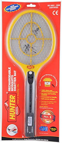 Spartan Hunter Mosquito Resistant Bat/Rechargeable Mosquito Swatter/Zapper Racket (Multicolor, Pack of 1) 4