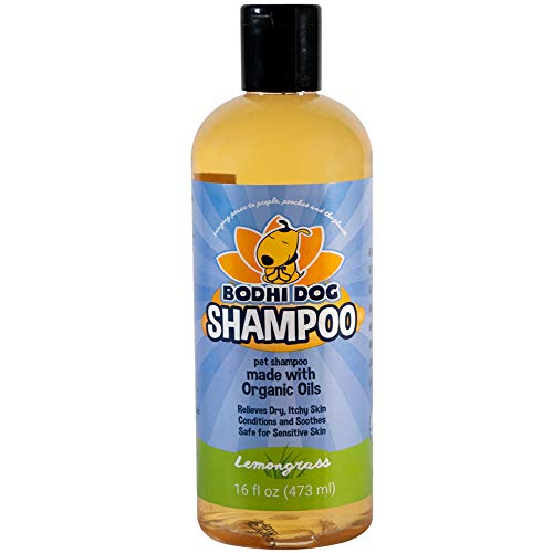 Organic Dog Shampoo | Soothing All Natural Hypoallergenic Pet Shampoo Dogs & Cats | 100% Non-Toxic | Made in USA - 1 Bottle 16oz (473ml)