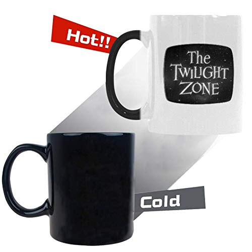 Gift Idea The Twilight Zone Coffee Mug Morphing Changing Color Heat Reveal Tea Cup 11 Oz