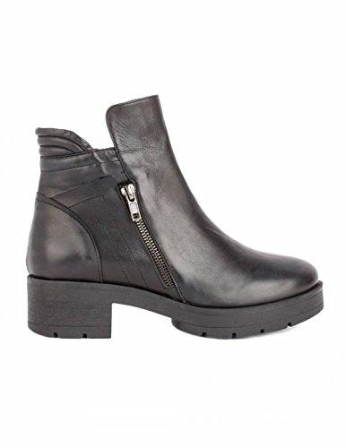 Avatar Botines Moteros Piel Negros - Color - Negro, Talla Zapatos Mujer - 35: Amazon.es: Zapatos y complementos