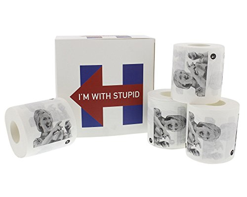 Hillary Clinton Toilet Paper Rolls - Funny Political Nove...