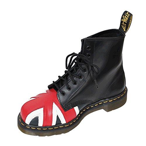 JACK Adulto Dr 1460 UNION Black Stivali Martens 8417 Unisex Awnq4ptx