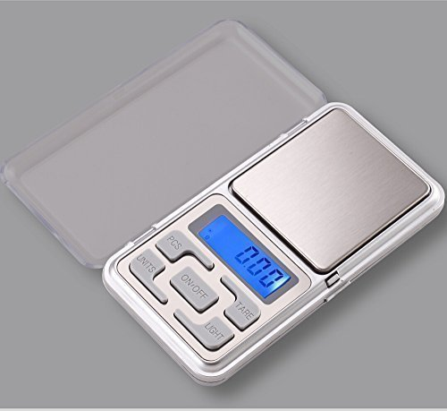 Digital Waage, 200×0.01g, sehr genau, von wake-up-easy, pocket scale, Feinwaage