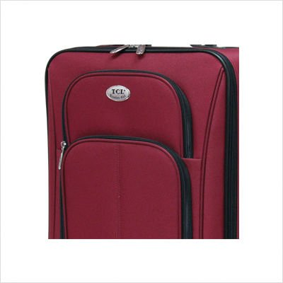 Euro Value II Collection- 3 Piece Promotional Travel Set in Red