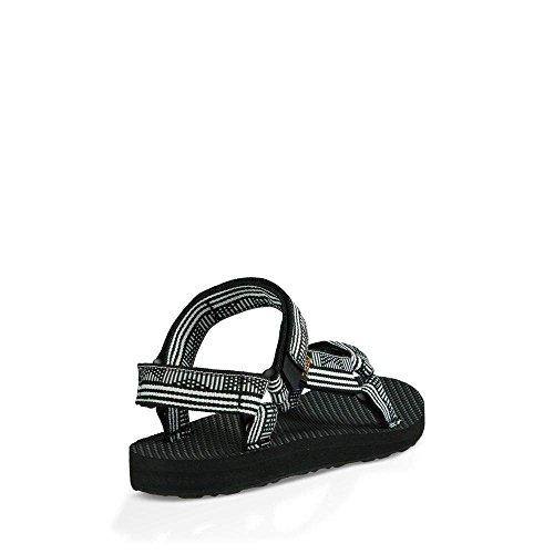 Teva Women's W Original Universal Sandal, Campo Black/White, 11 M US by Teva (Image #3)