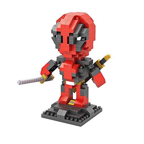 LOZ Diamond Block Super Hero Series Deadpool 9522