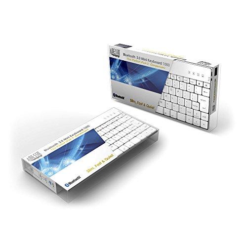 Mini Keyboard for iPad/iPad2 (WKB-1010BW) ()
