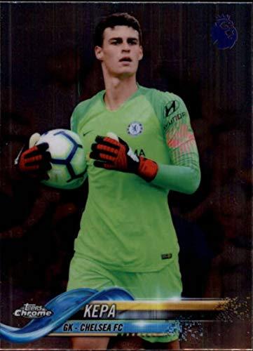 2018-19 Topps Chrome Premier League #54 Kepa NM-MT Chelsea FC Official Soccer Trading Card
