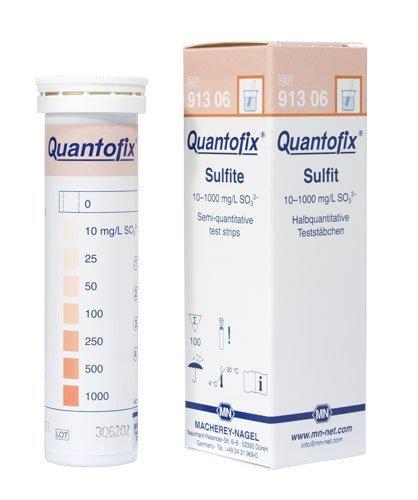 Macherey-Nagel, 91306, Quantofix Sulfite, Box Of 100 Strips