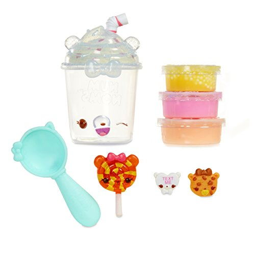 Num Noms Snackables Silly Shakes- Birthday Shake Collectible ()