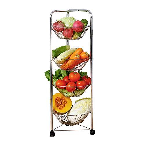 Shelf Storage Racks Storage Basket Shelf Baskets Cupboard Organizers Storage Rack Reinforce Iron Art Moveable Kitchen Sundries Finishing Rack ZHAOYONGLI by ZHAOYONGLI-shounajia (Image #7)