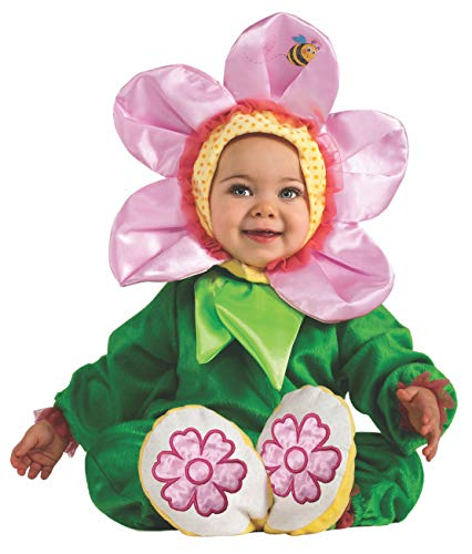 Baby Flower Costumes - Rubie's Cuddly Jungle Pink Pansy Romper