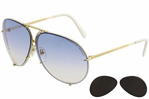 Porsche Design Sunglasses, Gold, - Aviators Porsche Design