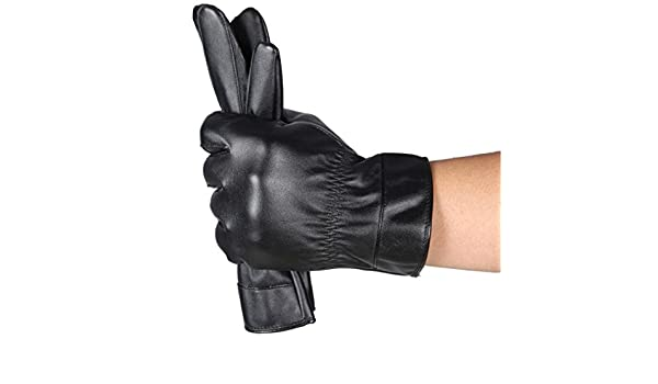 FranterdMens Luxurious Winter Driving Warm Cashmere Gloves