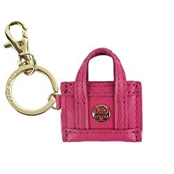 Mini Tote Keychain by Tory Burch