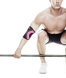 Rehband Rx Elbow Support - Medium Black/Pink