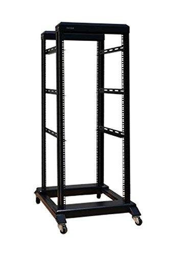 27U 4 Post Open Frame Network Server Rack 19quot Width 800MM Depth With 3 Pairs