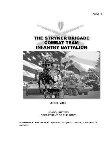 Field Manual FM 3-21.21 The Stryker Brigade Combat Team Infantry Battalion April 2003 Including Change (Mech Manual)