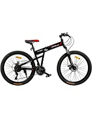 دراجة قابلة للطي من فتنس مينتس، لون اسود، FM-F26-03S-BK