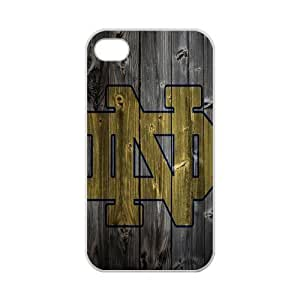 iPhone 5s Case Classic NCAA Notre Dame Team Logo iPhone 5s 100% TPU (Laser Technology)