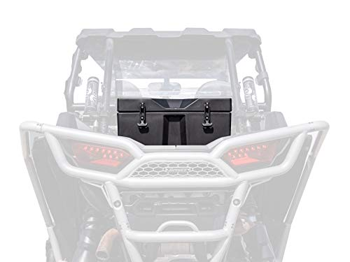 SuperATV Heavy Duty Insulated Rear Cooler/Cargo Box for Polaris RZR XP 1000 / XP 4 1000 (2014+) - Sealed Lid Keeps Ice in and Mud Out!