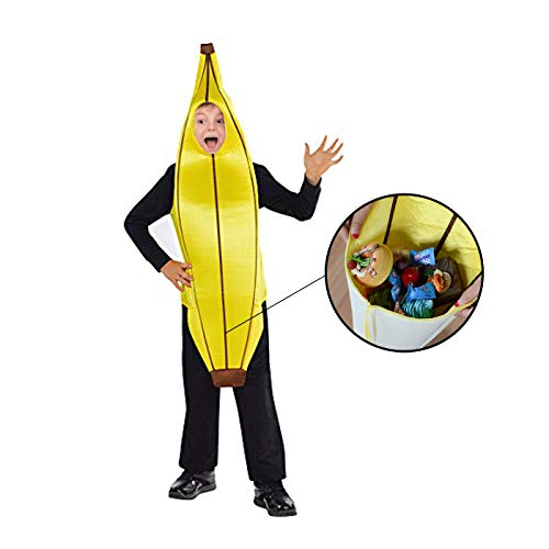 Costumes Boys-Banana Halloween Costume Trick Treat Kids ()