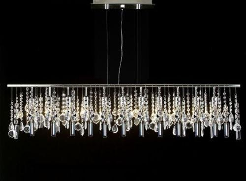 Modern contemporary broadway linear crystal chandelier lighting lamp modern contemporary broadway linear crystal chandelier lighting lamp 48quot aloadofball Choice Image