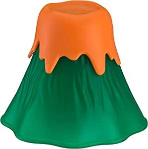 KItchen Gizmo, Eruption Disruption Microwave Cleaner - Clean In Minutes With This Fun, Erupting Volcano. (Green)