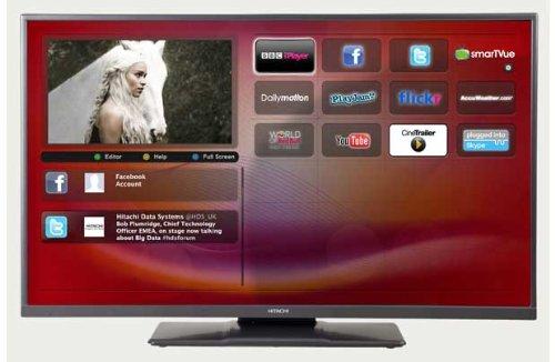 hitachi smart tv. hitachi hxt12u 42\ smart tv