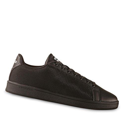adidas CLOUDFOAM ADVANTAGE CLEAN - Zapatillas deportivas para Hombre, Negro - (NEGBAS/NEGBAS/BLATIZ) 44