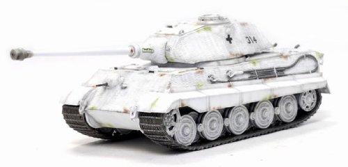 1/72 Sd.Kfz.182 キングタイガー(ポルシェ砲塔) w/ツィメリットコーティング 第503重戦車大隊 第3中隊 ハンガリー 1945年 62004