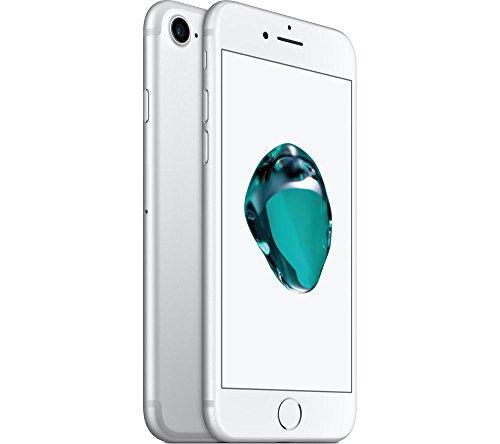 (Refurbished) Apple iPhone 7, 32GB, Silver – Fully Unlocked