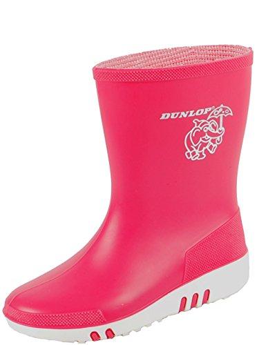 Dunlop Mini Childrens rose Bottes