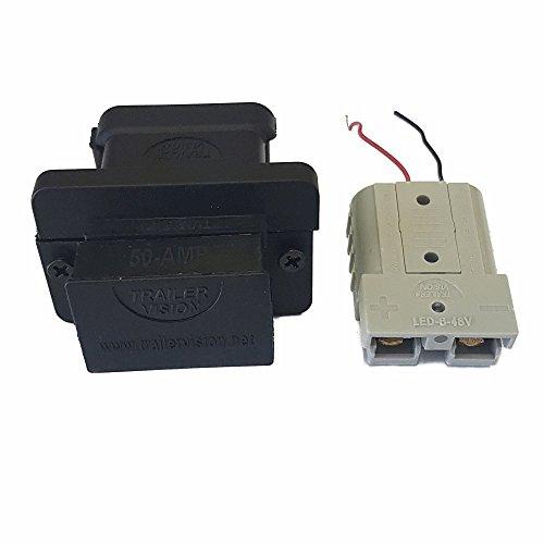 50A Flush Mount Car Cover plus Connectors (Flush 50a)